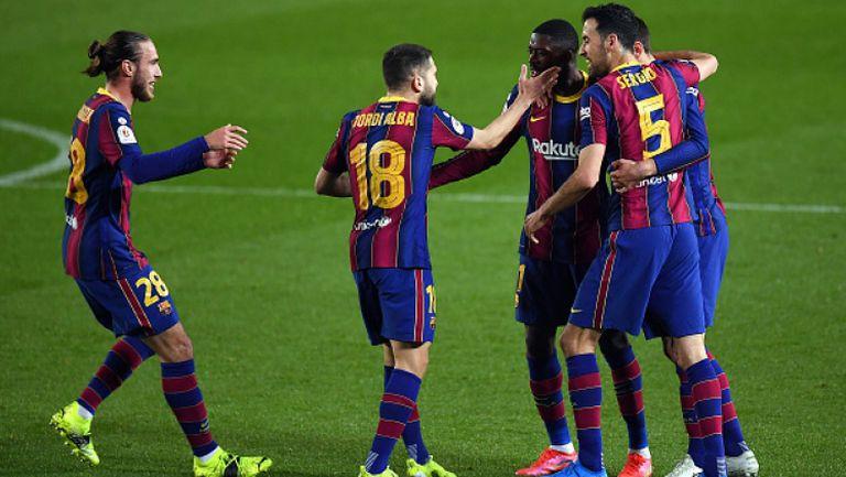Барселона отстрани Севиля след продължения с 3:0