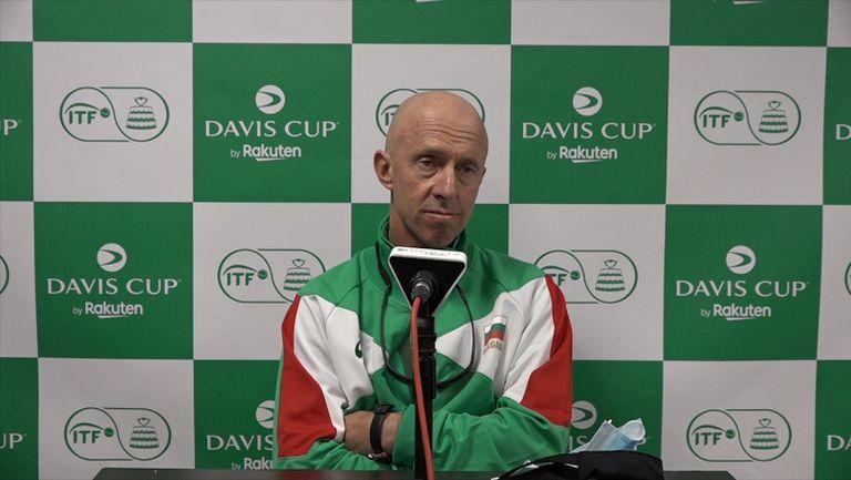 Теодор Бачев: Не сме недоволни, Адриан не игра най-добрия си тенис