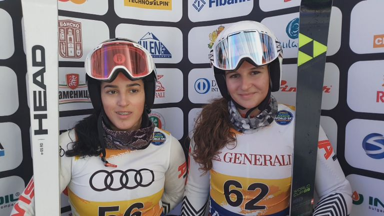 Вукадинова и Златкова 28 и 31 в гигантския слалом от СП по ски в Банско