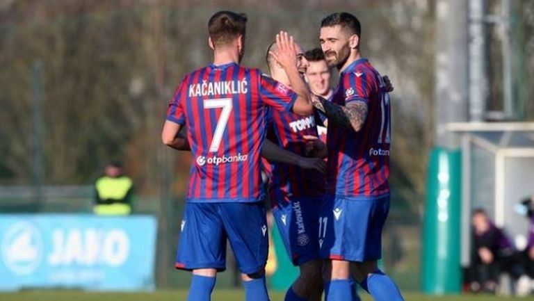Кристиан Димитров заменен при успех на Хайдук (Сплит) за Купата на Хърватия