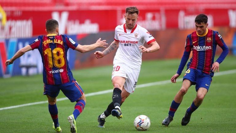 Ракитич за огромната амбиция на Севиля да отстрани Барса и да играе финал за Купата