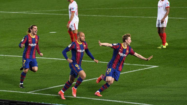 Барселона с десети финал за Купата на краля в последните 13 години