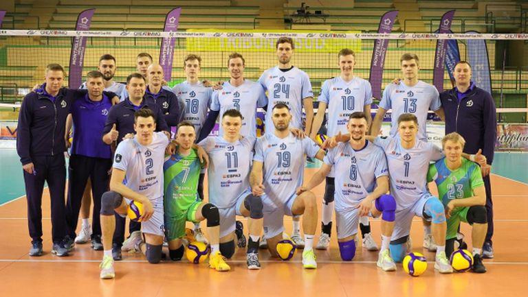 Динамо (Москва) и Цветан Соколов на финала за купата на CEV