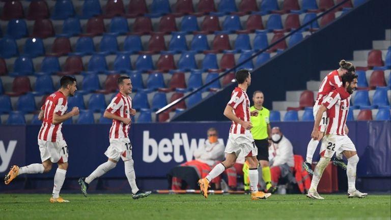 Атлетик Билбао ще играе на два финала в Купата на Испания през април