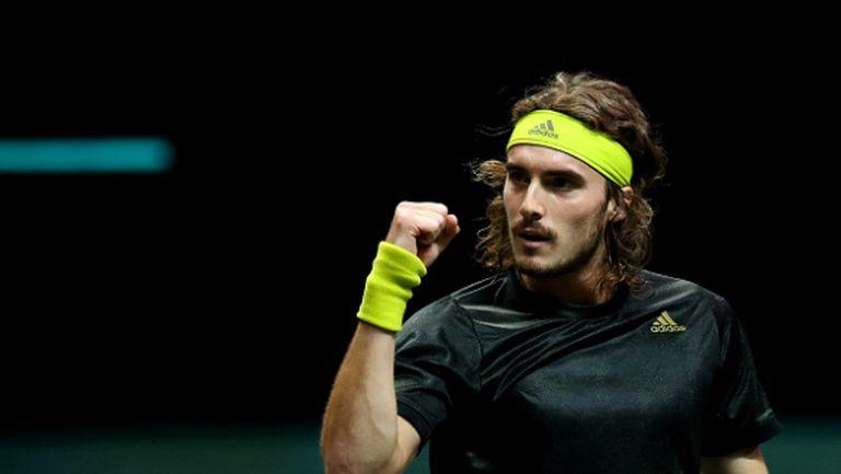 Циципас срещу Рубльов на полуфиналите в Ротердам
