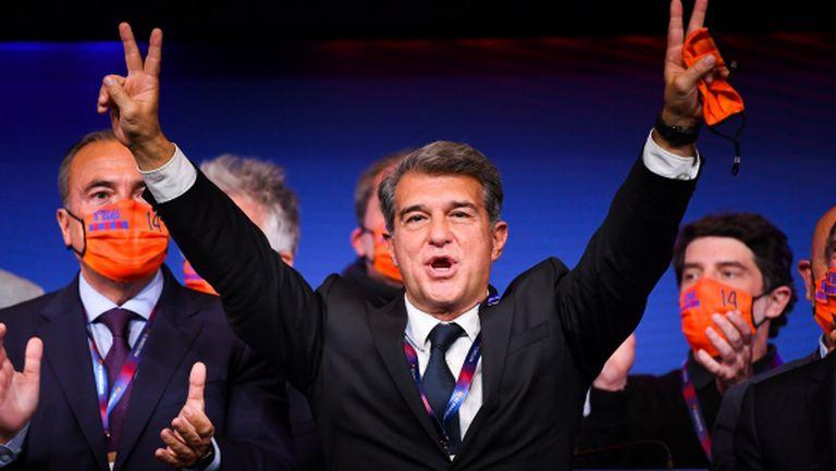 Официално: Лапорта спечели изборите в Барселона