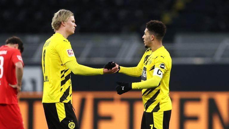 Холанд ще играе срещу Севиля, но друг важен футболист на Дортмунд е аут