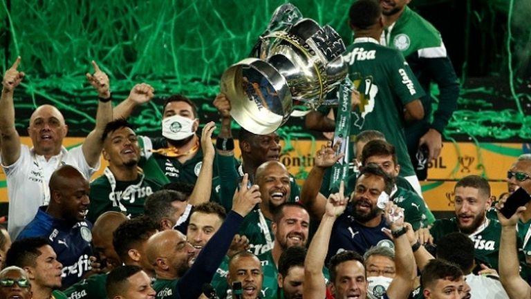 Шампионът на Либертадорес взе и купата на Бразилия