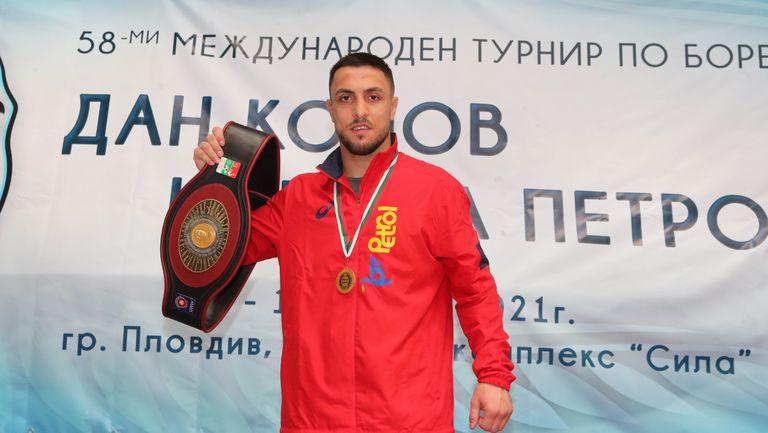 Дейвид Димитров:  Надявам се този успех  да е сериозна крачка към олимпийската квота
