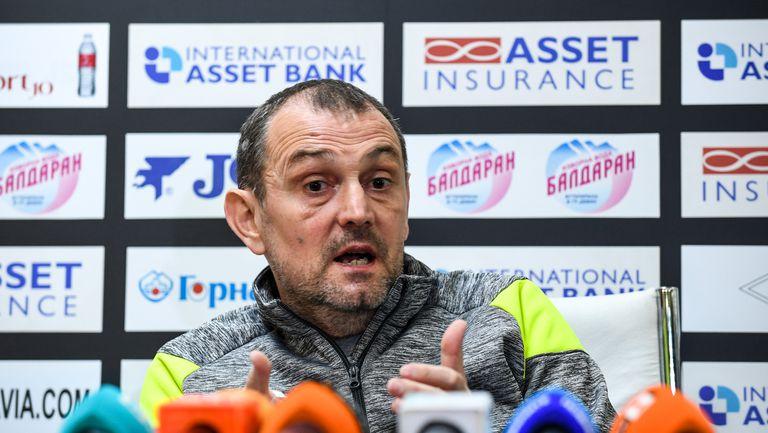 Представяне на Златомир Загорчич за треньор на Славия