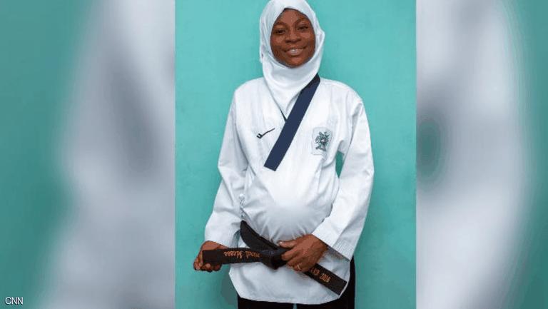 Бременна в осмия месец спечели златен медал по таекуондо
