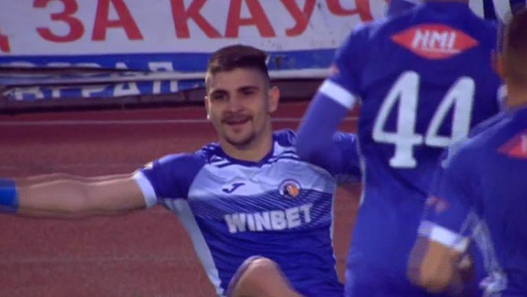 Преслав Боруков откри резултата срещу Берое