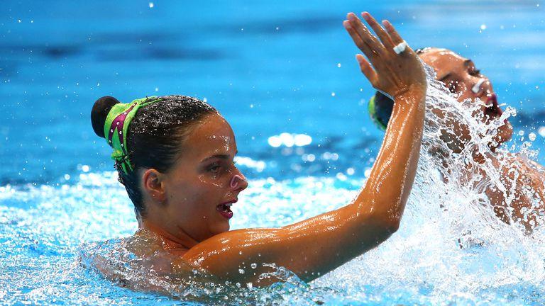 Александра Атанасова зае 11-о място на Европейското по артистично плуване