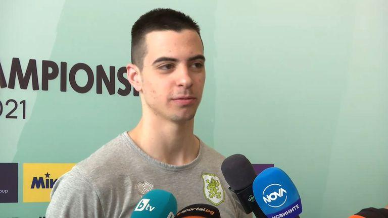 Самуил Вълчинов: Тренировките с мъжкия отбор ще ни помогнат