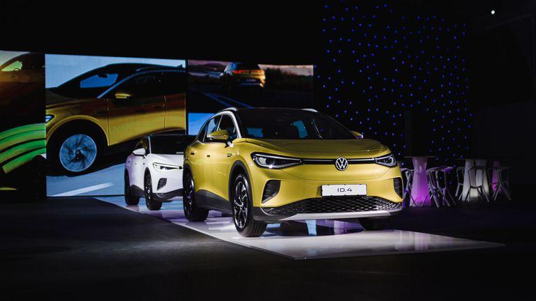 Електрическият ID.4  на Volkswagen e вече в България