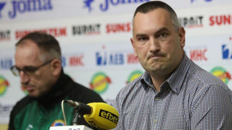 Пред Sportal.bg! Президентът на Балкан за Тодор Стойков: Не мога да коментирам човек, който няма длъжност