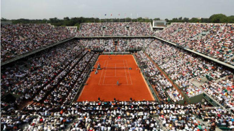 """Организаторите на """"Ролан Гарос"""" се надяват да посрещнат около 118 000 фенове"""