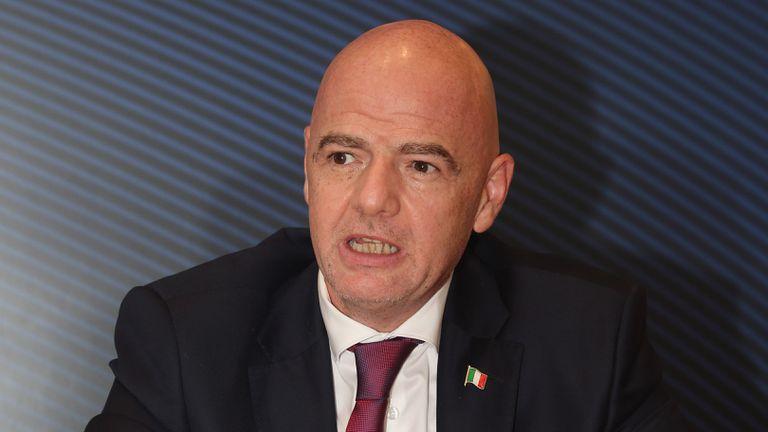 Джани Инфантино със съболезнователен адрес по повод кончината на Георги Димитров