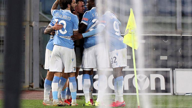 Лацио сломи Парма с гол в добавеното време