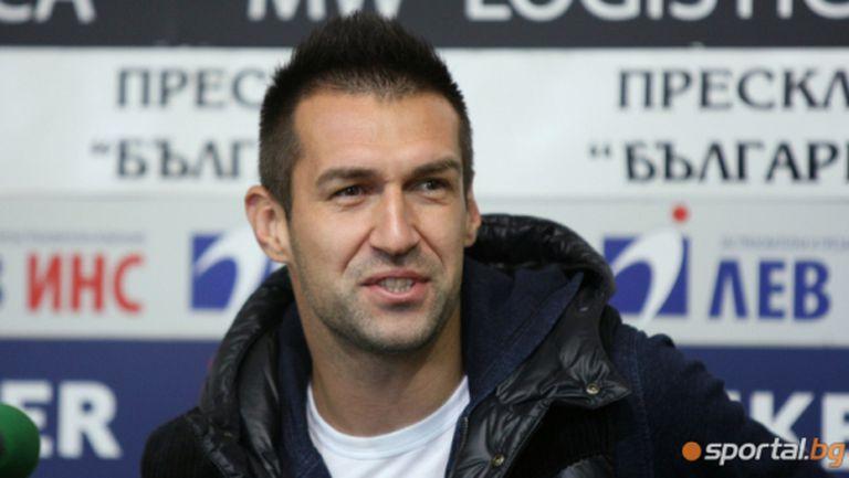 Мартин Камбуров: Искам да завърша кариерата си в Локомотив (видео)