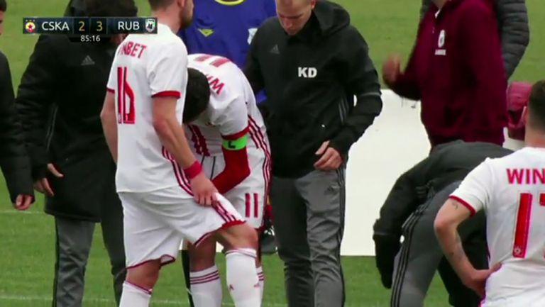 ЦСКА-София загуби четирима за ден - състоянието на Манолев е най-притеснително (видео+снимки)