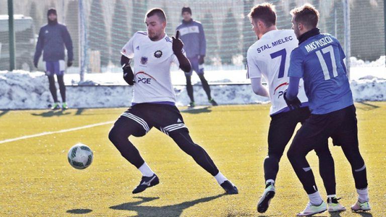Алекс Колев с нов гол в Полша
