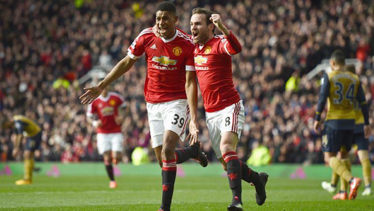 Манчестър Юнайтед - Арсенал 3:2