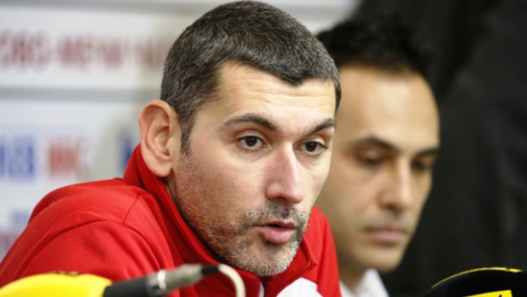 Сашо Попов: Ние не сме като боксьорите да се перчим преди мач (видео)
