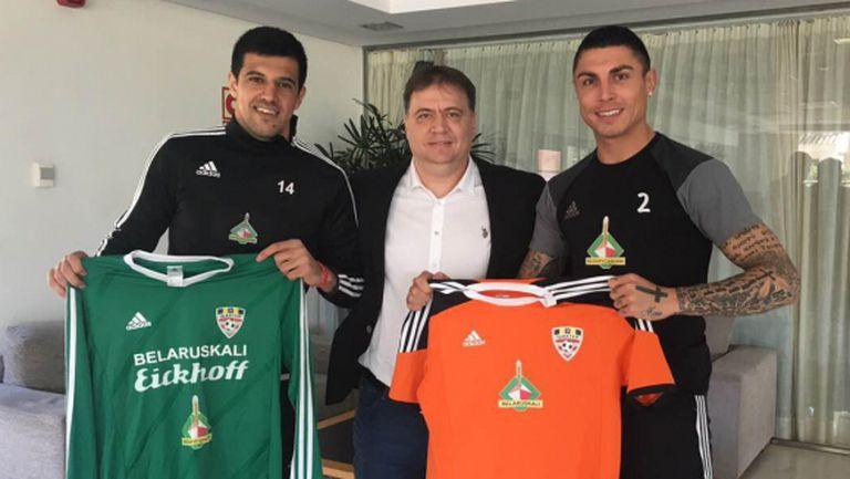 Караджата и БГ Роналдо подписаха в Беларус (снимка)