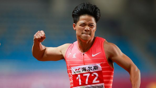 Су Бинтян отново слезе под 10 секунди в бягането на 100 метра