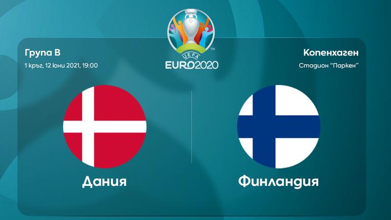 Преди двубоя Дания - Финландия
