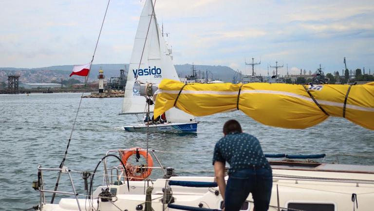 С оспорвани първи гонки стартира Шампионската лига по ветроходство във Варна