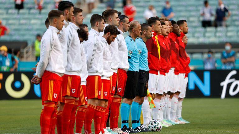 Първо равенство на Европейското, Уелс и Швейцария завършиха 1:1.