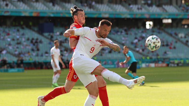 На почивката Уелс 0:0 Швейцария, Сеферович с няколко пропуска (гледайте тук)