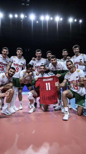 България е на 14-о място в Лигата на нациите 🏐