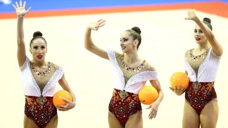 Злато на топки за ансамбълa ни на Европейското във Варна!