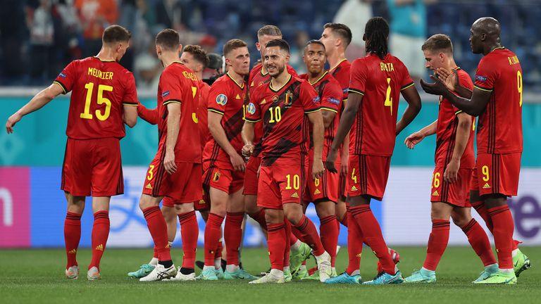 Лукаку поведе Белгия към убедително начало