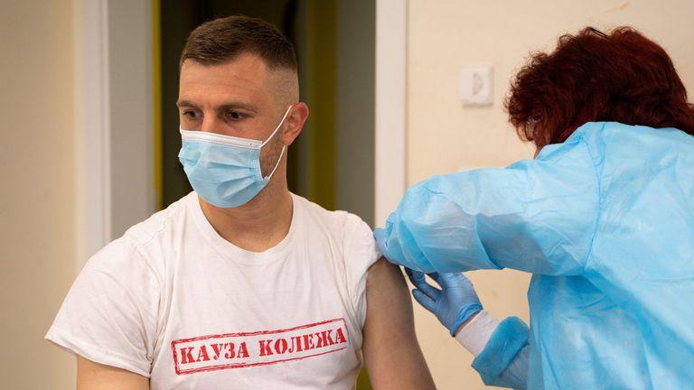 Футболисти и служители на Ботев (Пд) бяха ваксинирани срещу COVID-19