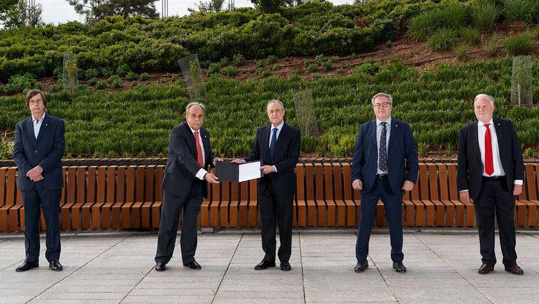 Шестият мандат на Флорентино Перес започна официално днес
