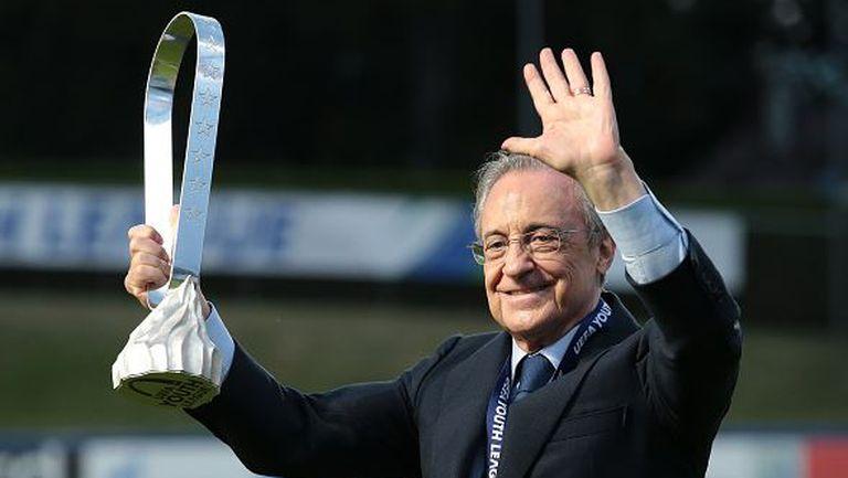 Флорентино Перес остава президент на Реал Мадрид до 2025г.