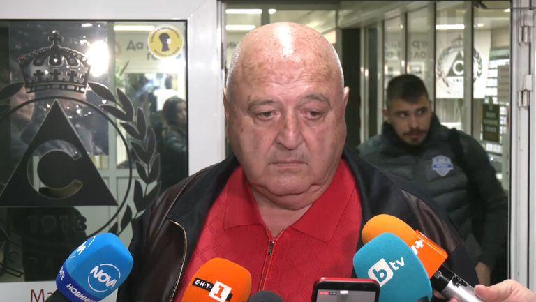Венци Стефанов: Ще бъда спокоен за бъдещето на Славия, ако момчетата играят така занапред