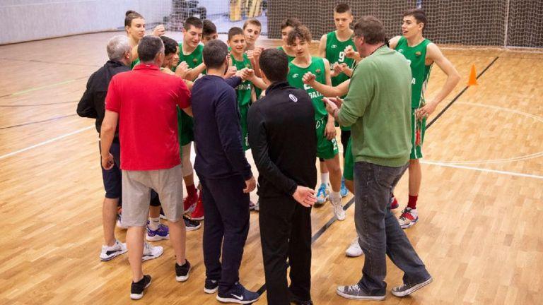България спечели срещу Естония на старта на квалификациите на FIBA U15 Skills Challenge 2021