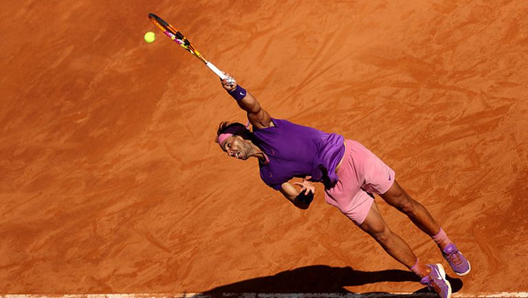 Надал спаси два мачбола и е на четвъртфинал в Рим