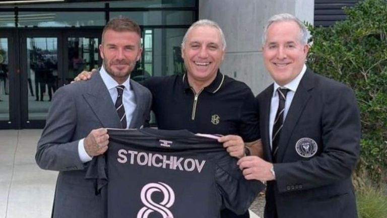 Бекъм покани Стоичков на мач и обяд