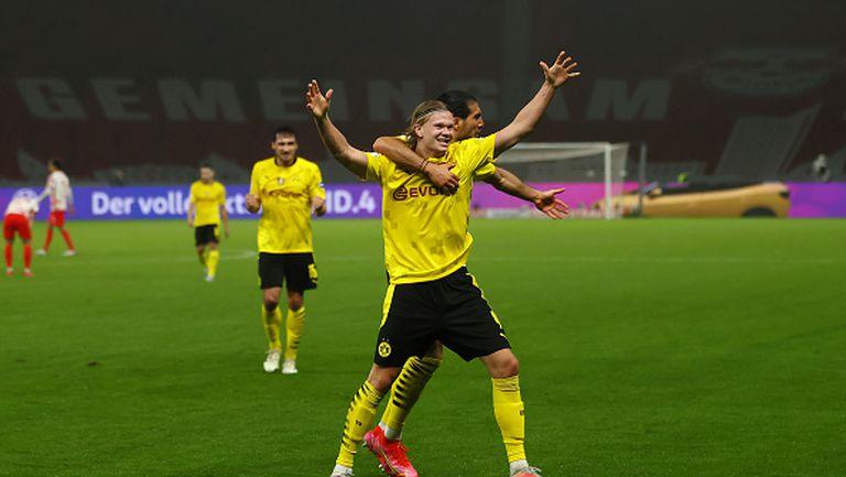 Борусия Дортмунд спечели Купата на Германия след разгром с 4:1 над РБ Лайпциг