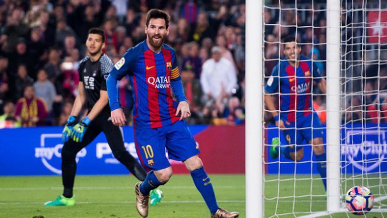 Меси търси 500-ия си гол в големите мачове с Юве и Реал