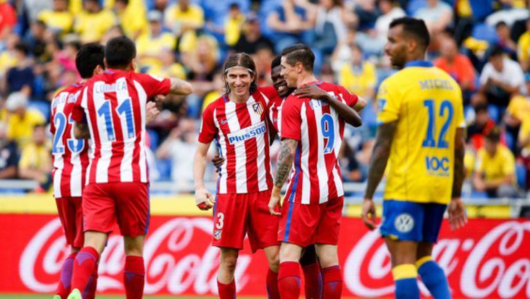 """Атлетико показа перфектна игра точно преди гостуването на """"Бернабеу"""" (видео)"""