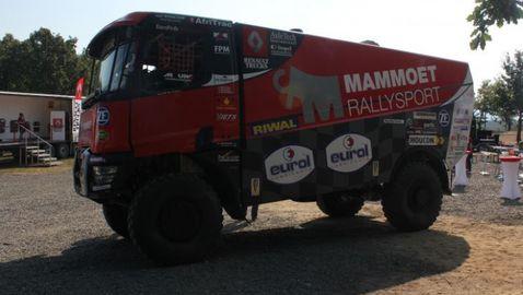 Renault разкри как създава камионите си за Дакар
