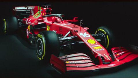 Ферари представи новия си болид SF21