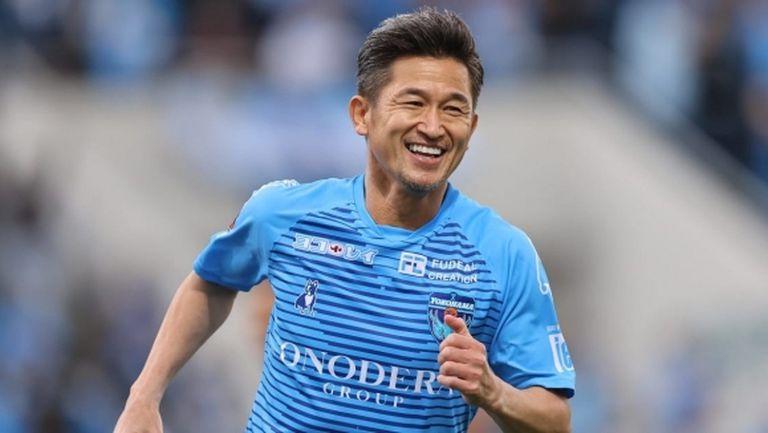 54-годишният Миура започна 36-ия си сезон в професионалния футбол